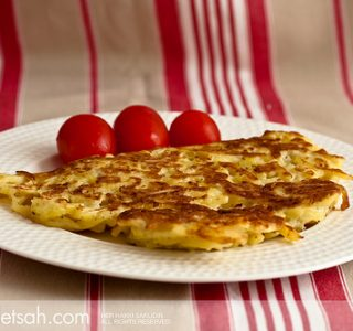 Patatesli Hızlı Omlet