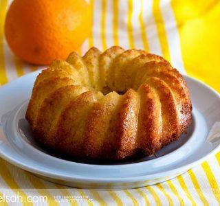 Portakallı Labneli Kek