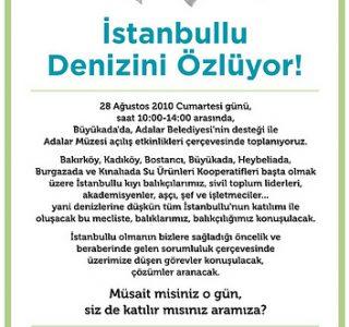 İstanbullu Denizini Özlüyor