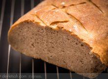Sponge ile Ekşi Mayalı Ekmek