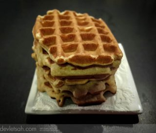 Tam Buğday Unlu Waffle