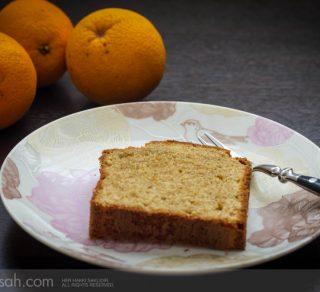 Portakallı Tam Buğday Unlu Kek