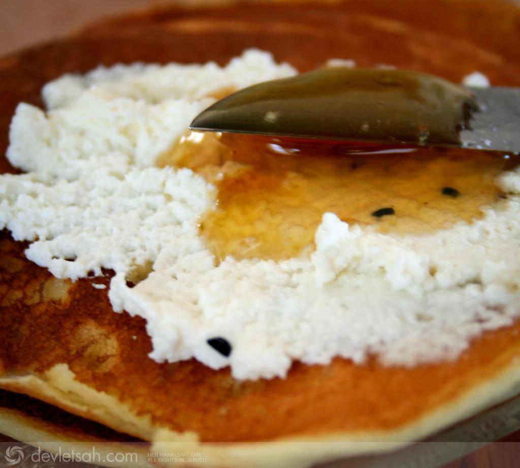 Riccotta – Lor Peynirli Pancake