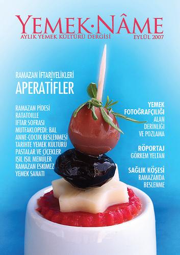 Yemek.Name Dergisi Eylül 2007 Sayısı Çıktı!