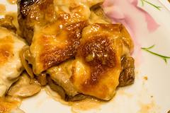 Fırında Mantarlı Biftek