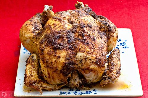 Buharda ve Fırında Pişen Tavuk