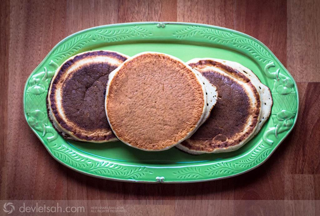Kefirli Pancake